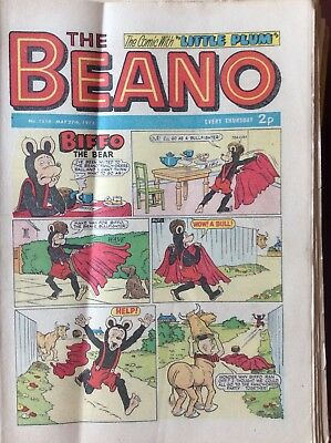 Box L The Beano Comic No 1558 May 27th 1972