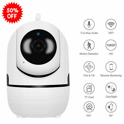 JOOAN HD 1080P WIFI Camera Home IP Camera 2 Way Audio Nanny Baby Pet Monitor
