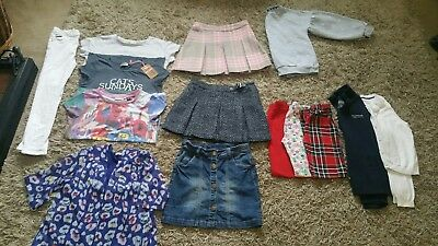 14 Piece Girls Clothes Bundle age 9- 10 Years