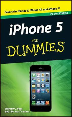iPHONE 5 FOR DUMMIES (Pocket Edition) : WH2-R1C : iPHONE 5/4S/4 : NEW BOOK