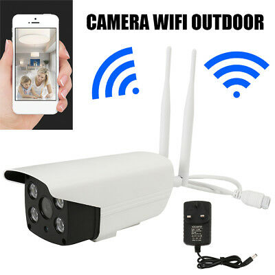 1080P Outdoor Wireless WIFI IP Camera SD Slot Network Night Vision CCTV Security