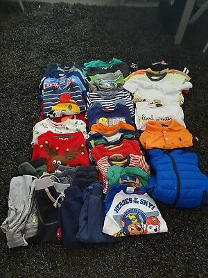 Large Boys Clothes Bundle  37 items Age 2-3