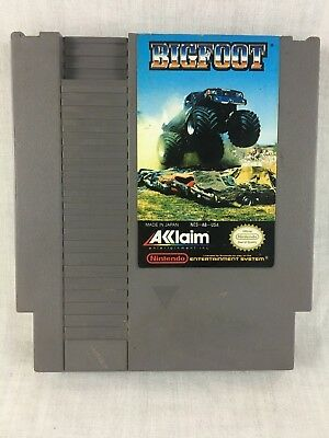 Bigfoot (Nintendo Entertainment System, 1990) AUTHENTIC Game Cartridge Only