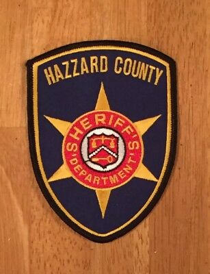 Defunct Hazzard County Georgia Old Style Sheriff's Dept. Police Patch