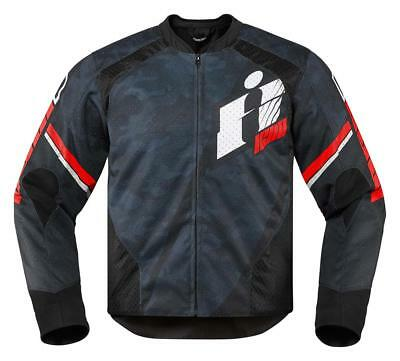 Icon Jacke Overlord Primary™ Jacket Red Large