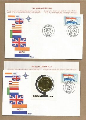 SA: 'Cancer' CBlock 5 MNH + 3 FDC with Info Cards + 50 diff used  (Ref 316)