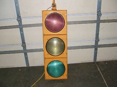 """traffic signal/ stop light 12"""" lens, working condition"""