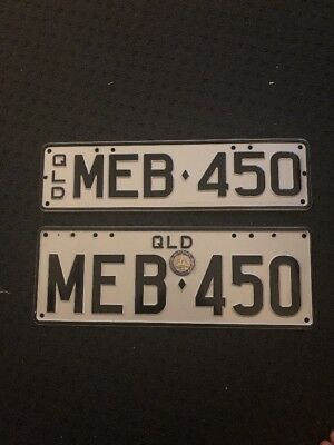 Personalised Number Plates QLD Mercedes MEB450 Queensland