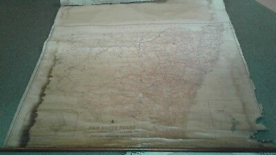 1932 Kenneth Craige & Co. (Sydney) New South Wales Pastural Map