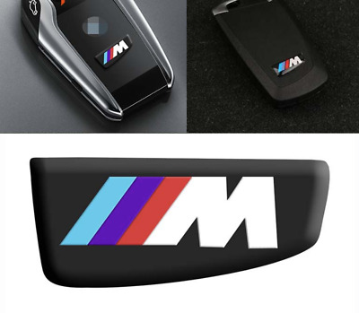BMW 1PCS Motorsport M Performance Styling Key Trim 3D Car Sticker M Emblem Logo