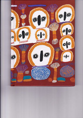 "Aboriginal Blank Book "" Wandjinas "" by Lucy Ward  ( BRAND NEW )"