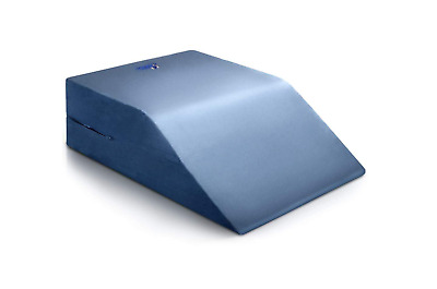 Leg Wedge Pillow Clinical Therapeutic Grade Post Surgery Bed Rest For Legs Blue