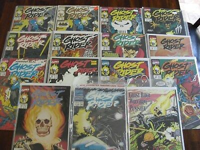 Ghost Rider #5,6,7,8,11,12,13,14,15,16,17,18,A1 Lot of 15 Marvel Comics