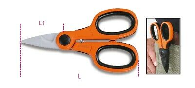 Beta Tools 1128BCX Electricians Scissors With Cable Cutting Groove | 011280080