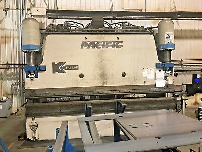 Pacific 350 Ton x 14ft CNC Press Brake, Year 2008! Video Available!