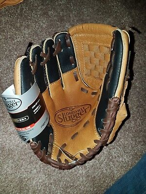 Louisville slugger Baseball Glove Childs leather 9 inch
