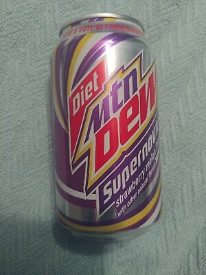 Diet Mountain Dew Supernova Limited Release 12oz EXPIRED UNOPENED FULL NEW 2011