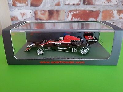 Formel 1 Shadow DN5B GP German T. Pryce 1976 Spark 1:43