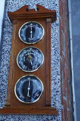 Maritime Rustikale Wetterstation Baro-Hygrometer-Thermometer Madei N W-.germany