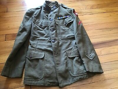 Ww1 Us Army Motor  Transportion Corps Tunic W/cap