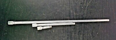 """#aa307   SNAP ON TOOLS 1/4""""dr 3pc 14"""" 6"""" 2"""" Knurled Extension Set TXMK140/60/2"""