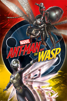 New Maxi Poster Marvel Comics Ant Man And The Wasp Movie (271)