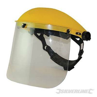 Protective Face Shield And Visor For Strimming Hedge Cutting Garden Work