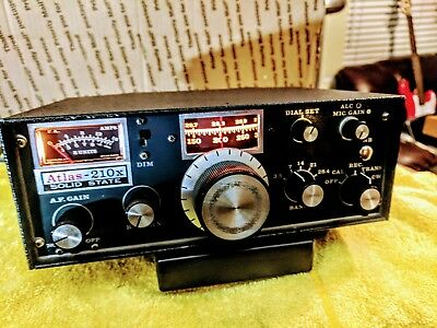 Atlas 210X Hf Transceiver Superb--Near Collector--Rare Original Power Lead