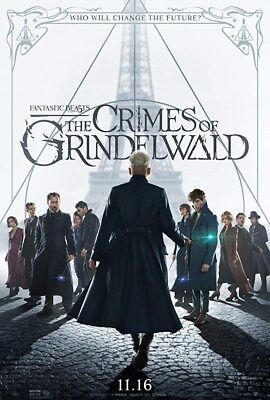 Fantastic Beasts: The Crimes Of Grindelwald Original DS 27x40 Theater Poster