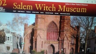 Salem Witch Museum FAMILY 6 PACK TICKETS