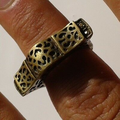 RARE Ancient Antique-ROMAN LEGIONARY BRONZE-RING