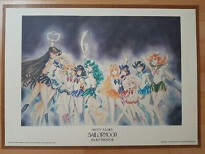 Sailor Moon Poster/Lithografie/Lithography - 1000 Editions 1996 - 70 cm x 50cm