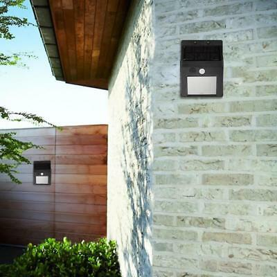 Waterproof Solar 20LED Split Outdoor Garden Wall white Light Motion Sensor Lamp