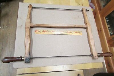 Bow Saw, vintage woodworking tool