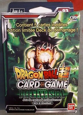 Dragon Ball Super Card Game Dbs / Starter Deck : Dark Invasion / Sd03 / Vf