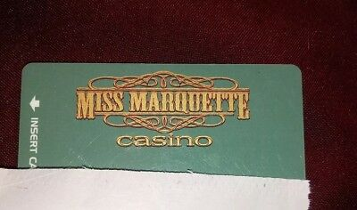 Miss Marquette Riverboat Casino Players Card, McGregor, Iowa