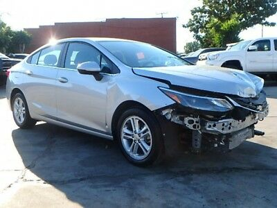 2018 Chevrolet Cruze LT 2018 Chevrolet Cruze Salvage Damaged Repairable! Priced To Sell! Wont Last!