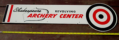 Vintage Advertising Sign Archery Shakespeare