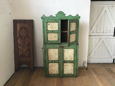 Shabby Chic Rustic Antique Vintage Dresser, Cupboard, Armoire