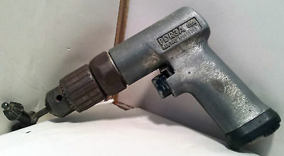 "Snap-on PDR3A Reversible Variable Speed 3/8"" w/ Key Chuck Pneumatic Air Drill"