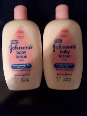 2X Johnson's Baby Lotions (15 oz/444mL each) NEW