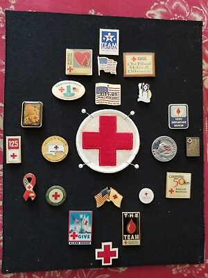 American Red Cross Pin Collection