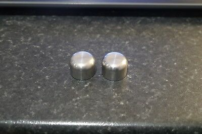 Solar Stainless Buzz Bar Blanking Caps X2 Carp Coarse Fishing Tackle Gear Setup