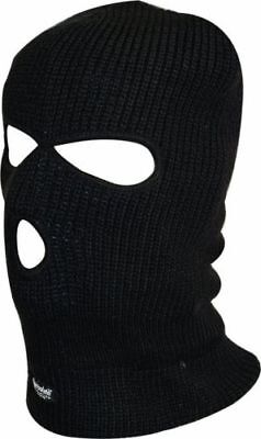 Balaclava Black Mask Thinsulate Winter Sas Style Army Ski Knitted Neck Warmer