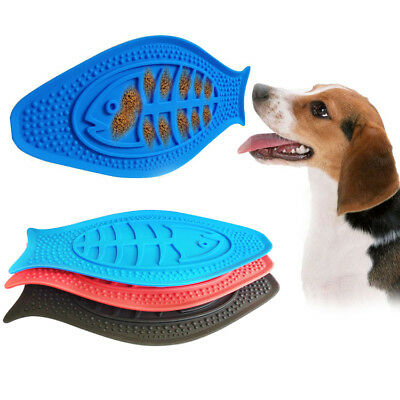 Slow Feeder dog Bowl Lick Pad  Grooming Toy Bath Buddy with Suction Pads UK