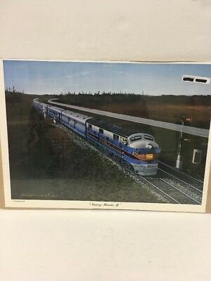 "Rail Graphics South Print ""nancy Hanks Ii"" Central Of Georgia By Robert West"