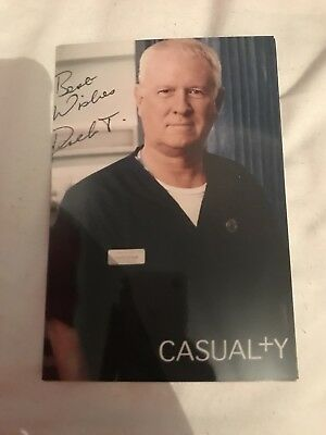 Casualty Maggie Susan Cookson Signed Cast Card Copy