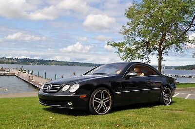 2004 Mercedes-Benz CL-Class 600 2004 Mercedes-Benz CL600 Twin Turbo V12 DISTRONIC Cruise Control