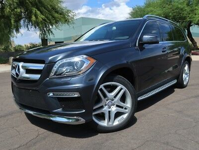 2013 Mercedes-Benz GL-Class GL550 4Matic Highly Optioned Rear TV Keyless 4WD Steel Grey Fully Serviced 2012 2014 Gl550
