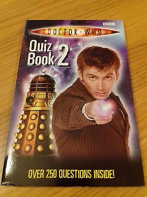 NEW! Doctor Who Quiz Book No:2 (2008)